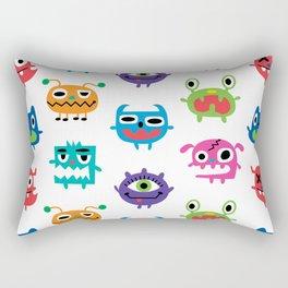 monstrous kids room Rectangular Pillow