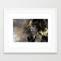 snsd Framed Art Prints featuring Run Devil Run by Kimberly Phan