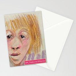 Les jumeaux -Titeface-792-793-ÖMiserany 2016 Stationery Cards