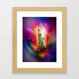 New York NYC - Statue of Liberty 2 Framed Art Print
