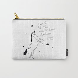 Unicorn kids poster Carry-All Pouch