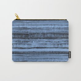 Expressive Inverted Watercolor Stripe Carry-All Pouch