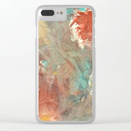 A Voice Cries Out Clear iPhone Case