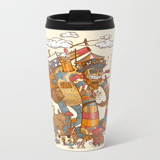 Circusbot Metal Travel Mug