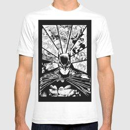 Caped Crusader & Friends T-shirt