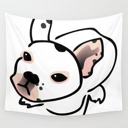 French Bulldog Pup Drawing Wall Tapestry