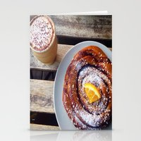 swedish Stationery Cards featuring Swedish fika by Jeanette Perlie