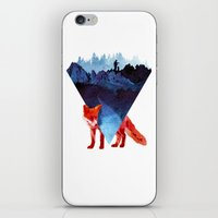 road iPhone & iPod Skins featuring Risky road by Robert Farkas