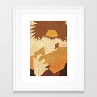goku Framed Art Prints featuring Goku by JHTY