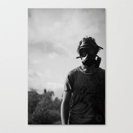 Be Scared Canvas Print