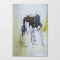 entourage Canvas Prints featuring Entourage by Ekaterina Kashtanova