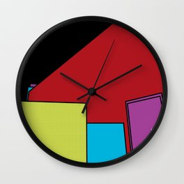 Fifth Floor Hangout Wall Clock