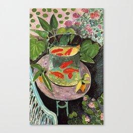 The Goldfish - Henri Matisse Canvas Print