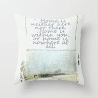 degas Throw Pillows featuring Hesse speaks by anipani