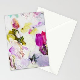 Back to Joy (Abstract Painting) Stationery Cards