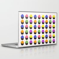 cupcakes Laptop & iPad Skins featuring Cupcakes by kourai