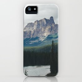 Above the Tree Line iPhone Case