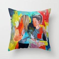 Sam and Mon Throw Pillow