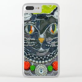 Homage To Betsy J. Clear iPhone Case