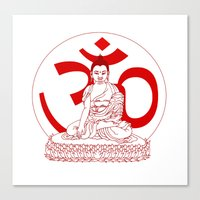 ohm Canvas Prints featuring OHM by Kyle Griffis Illustration