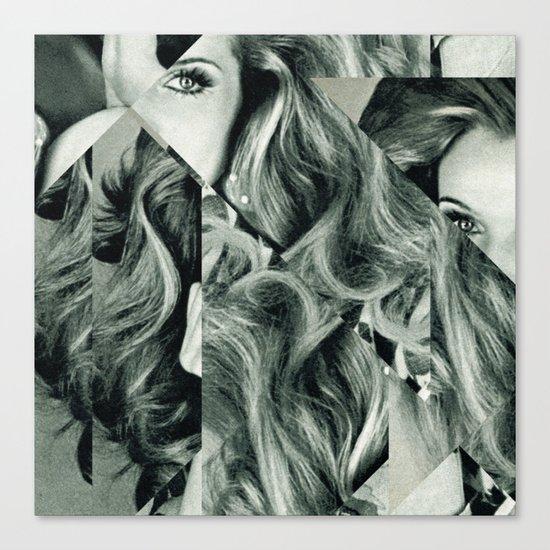 Frau Dreiecke 4 Canvas Print