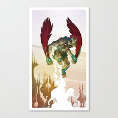 Stratos - He-Man's Flying Friend  Canvas Print
