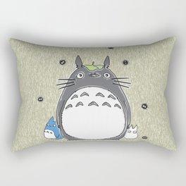 Will you be my neighbor Totoro? Version 1 Rectangular Pillow