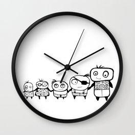 Kids Play Wall Clock