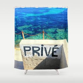 Prive Shower Curtain