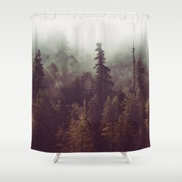 Weekend Escape - Forest Nature Photography Shower Curtain