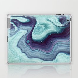 Minty Marble Laptop & iPad Skin