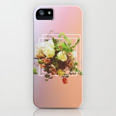 Cubic Bouquet Slim Case iPhone (5, 5s)