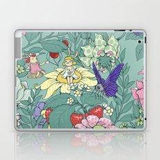 Garden party - mint tea version Laptop & iPad Skin