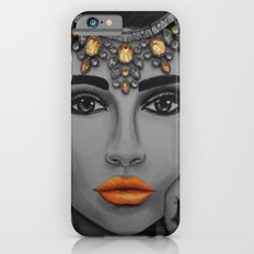 Tangerine Sky Goddess - by Ashley-Rose Standish Slim Case iPhone 6s