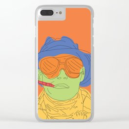 Fear and/or Loathing Clear iPhone Case