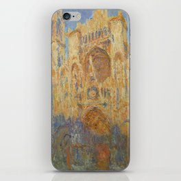 Monet, Rouen Cathedral, La Cathédrale de Rouen iPhone Skin