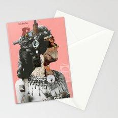 Crazy Woman - Della Mona Rosa Stationery Cards