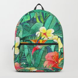 Classic Tropical Garden Backpack