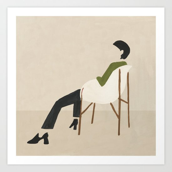 Eames Chair Woman by megangalante