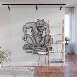 Mix - creature - Troll Devil and Golem Gargoyle Wall Mural