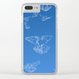 Doves Clear iPhone Case