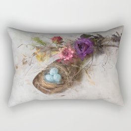 Bird Nest Scoop 2 Rectangular Pillow