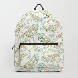 Floral birds multi Backpack