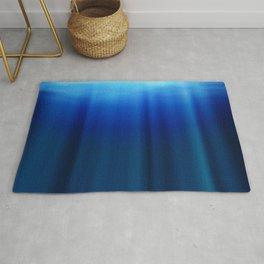 ocean, water, rays, deptha Rug