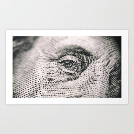 Portrait paper Art Print