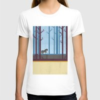 woods T-shirts featuring Woods by Kakel