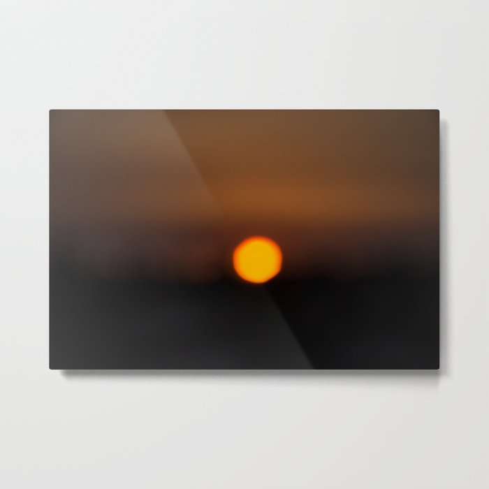 Sunset Algarve Metal Print