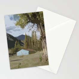 Far from here Stationery Cards