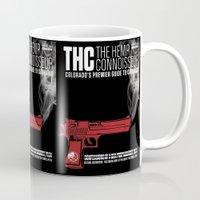 propaganda Mugs featuring THC Propaganda by The Hemp Connoisseur  ™