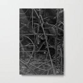 Evil Bat Metal Print